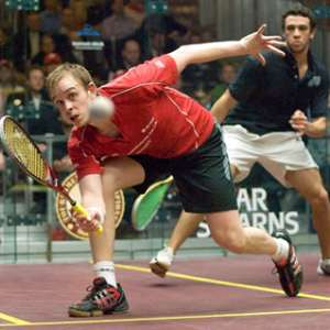 World No 1 James Willstrop Exhibition Match