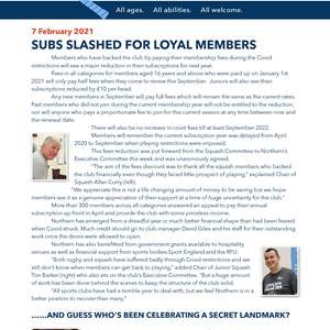Subs slashed for loyal members